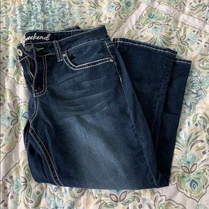 New Directions crop jeans size 10